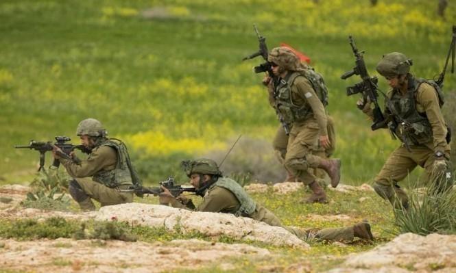 مناورة عسكرية مفاجئة بالجولان المحتل