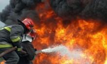 اندلاع حريق هائل في منحدرات الكرمل