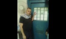 الأسير جواد جواريش مضرب لليوم السابع احتجاجا علىعزله