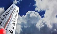 حالة الطقس: غائم جزئيا وانخفاض مملوس على درجات الحرارة