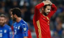 قلق بمعسكر إسبانيا: بيكيه يترك الحصة التدريبية