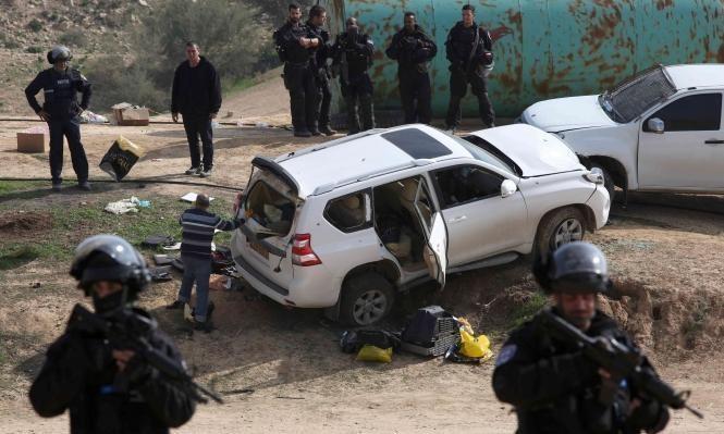 """الشاباك: الدهس بأم الحيران بسبب إخفاق الشرطة وليس """"عملية إرهابية"""""""