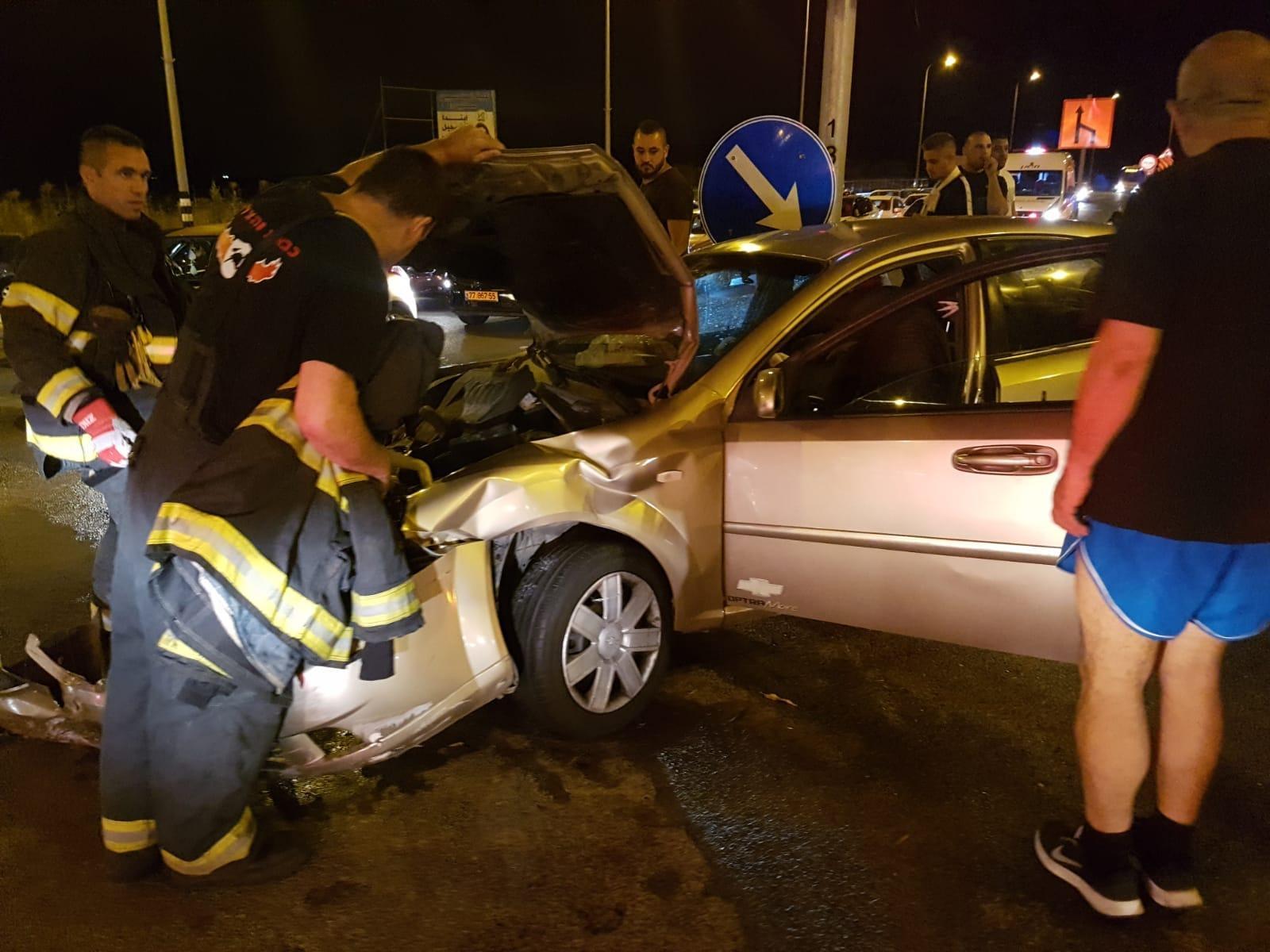 5 إصابات في حادث طرق قرب جديدة المكر