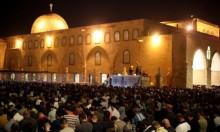 آلاف المصلّين في المسجد الأقصى