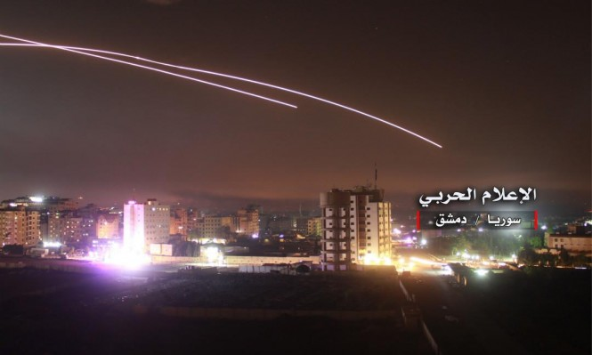 """مصدر مقرب من النظام: """"تعزيز الدفاعات السورية المضادة للطائرات في الجولان المحتل"""""""