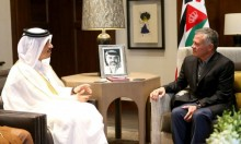 رئيس الوزراء القطري في عمّان لأول مرة منذ الحصار