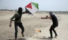 """التهديد بإطلاق آلاف الطائرات الحارقة على """"غلاف غزة"""" بالعيد"""