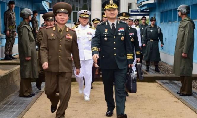 محادثات عسكرية بين الكوريتين بعد وقف أميركا المناورات