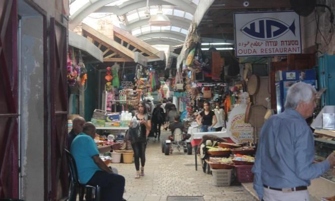 السوق القديمة في عكّا عشية عيد الفطر المبارك (عرب 48)