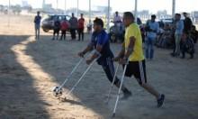 """مباراة """"العودة"""": غزة تحاكي افتتاح كأس العالم"""