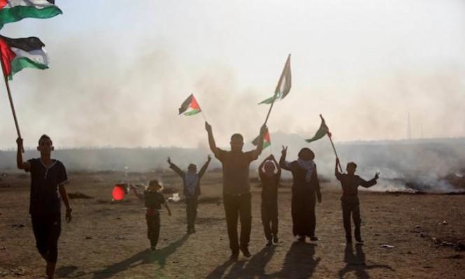 الاحتلال يستنفر والغزيون مستمرون بمسيرات العودة