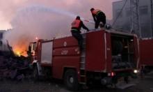 إنقاذ العشرات عقب اشتعال النيران بمطعم ببيت جالا
