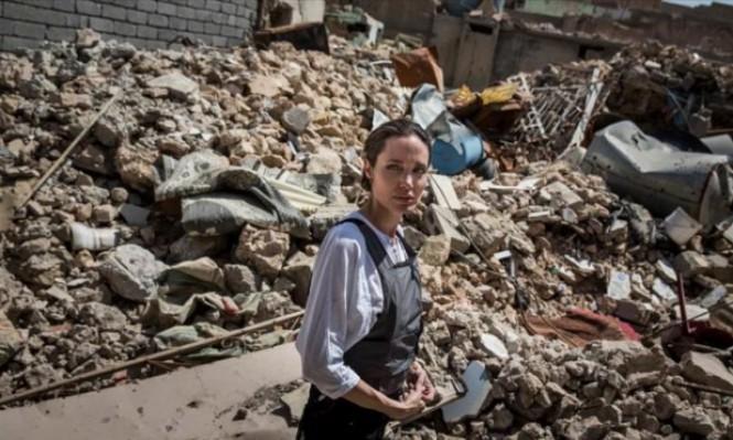 أنجلينا جولي تدعو لإعادة إعمار الموصل: هذا أسوأ دمار شاهدته
