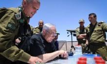 الاحتلال: استهداف مواقع حماس مقابل الطائرات الورقية