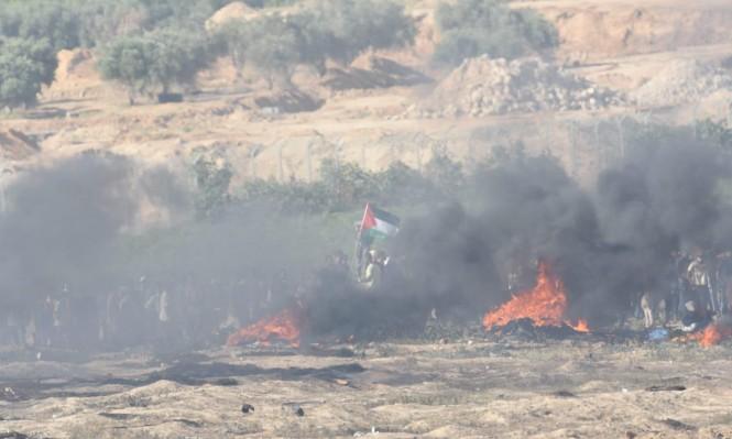 استشهاد فلسطيني بنيران الاحتلال حاول تخطي السياج الأمني