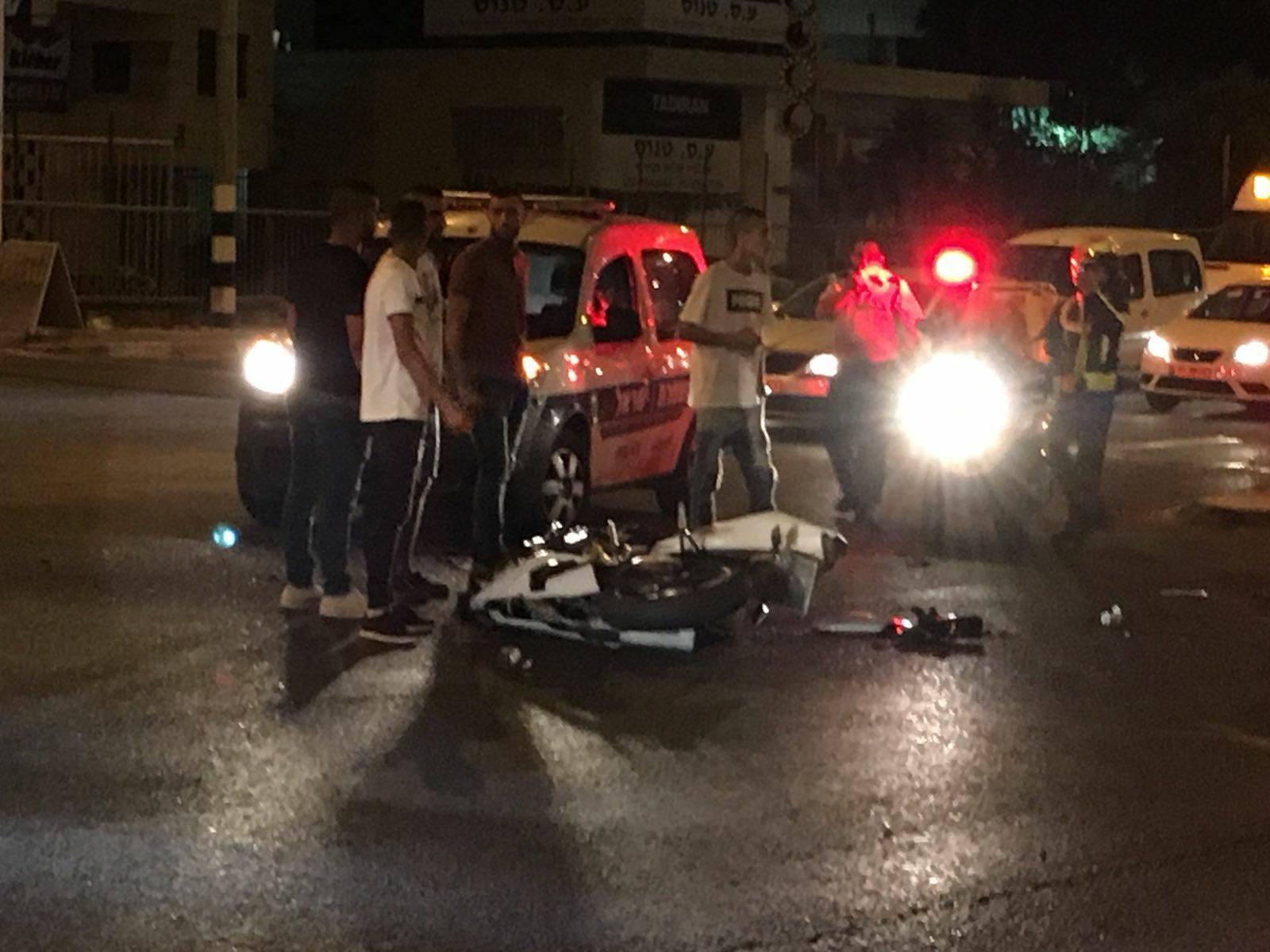 الناصرة: إصابة خطيرة في حادث طرق