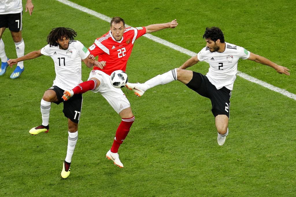 هزيمة قاسية تقضي على آمال مصر في مونديال 2018