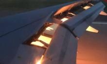 ما سبب الحريق في طائرة بعثة منتخب السعودية؟