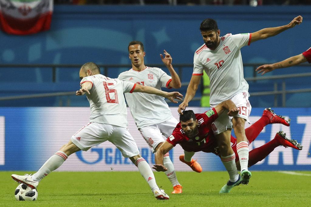 مونديال 2018: إسبانيا تكسر عناد إيران بهدف يتيم