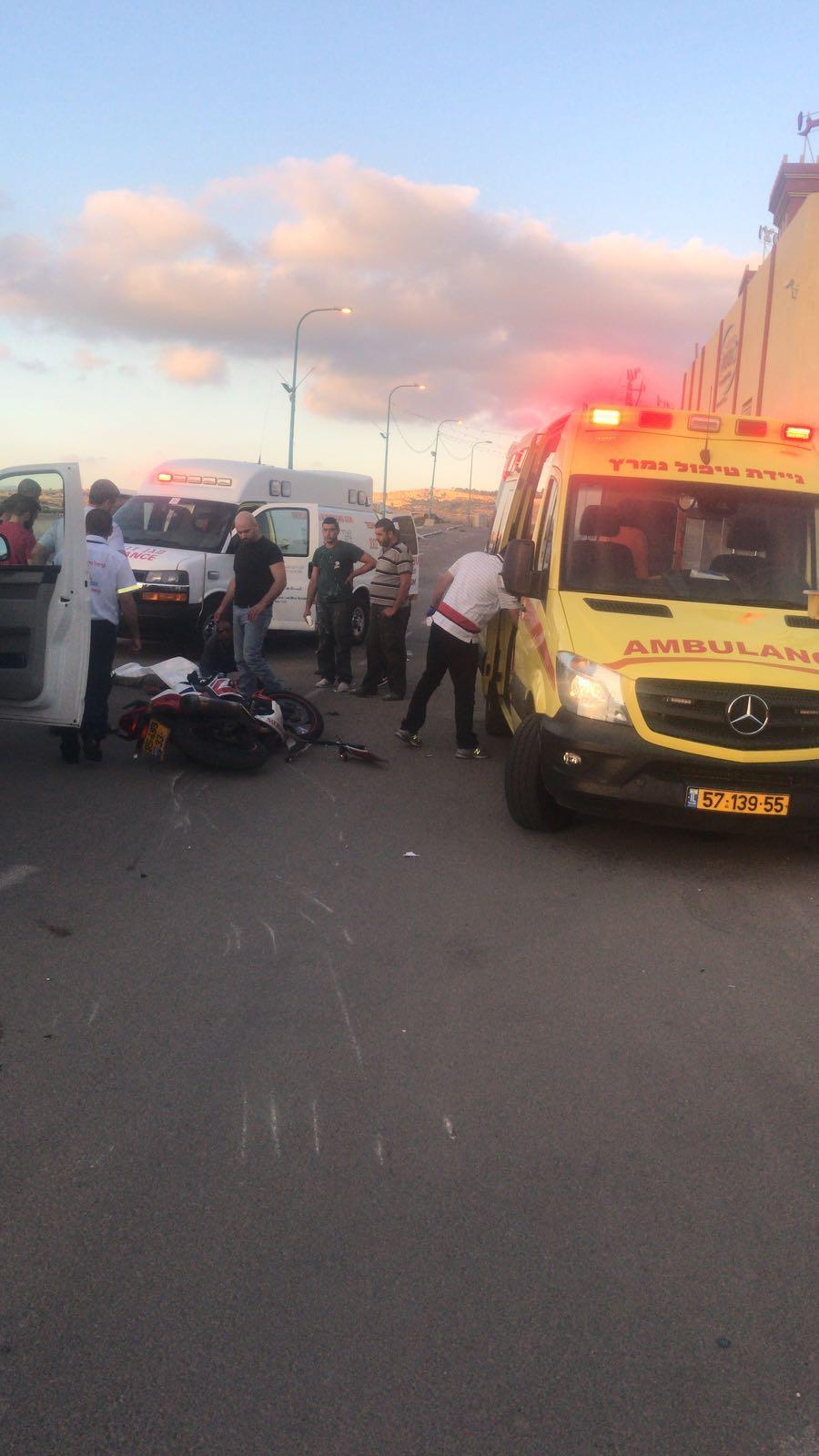 طمرة: مصرع شاب في حادث دراجة نارية بالمنطقة الصناعية