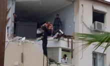 تحقيقات الشرطة: المنزل في سديروت انفجر نتيجة أسطوانات غاز في مختبر للمخدرات