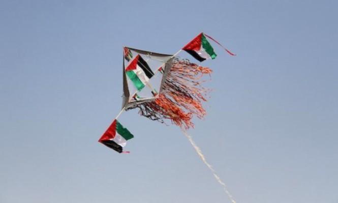 غزة: استهداف مطلقي الطائرات الورقية  بصاروخ