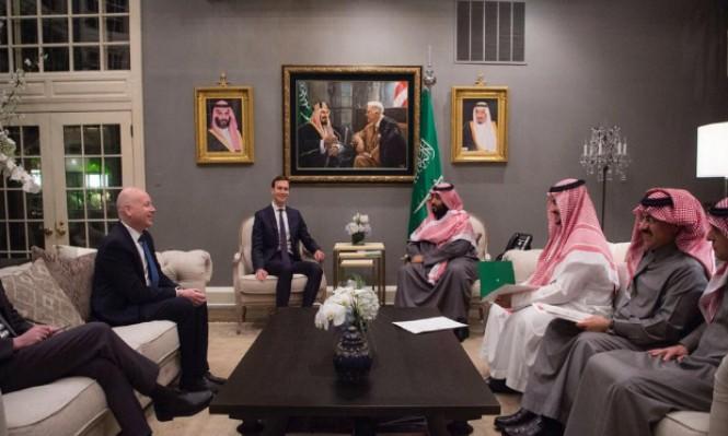 """كوشنر في السعودية لبحث """"صفقة القرن"""" مع بن سلمان"""