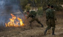 """5 حرائق بـ""""غلاف غزة"""" والاحتلال يقصف غزة"""