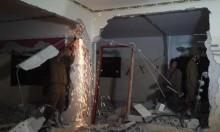 الاحتلال يهدم منزل الأسير قبها في برطعة