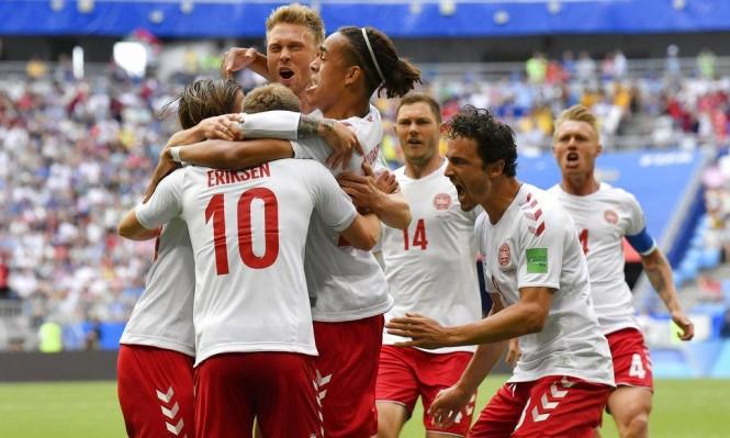 أستراليا والدانمارك تفترقان بالتعادل الإيجابي 1-1