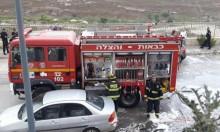 الناصرة: احتراق 7 سيارات وأضرار جسيمة بسيارات أخرى