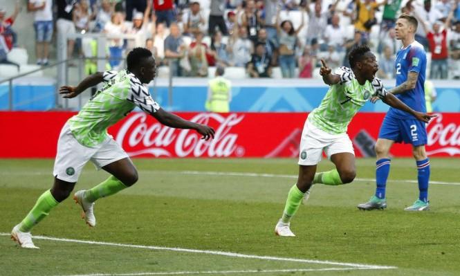 نيجيريا تقهر أيسلندا وتشعل منافسة مجموعتها على التأهل
