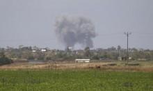 غارة إسرائيلية تستهدف متظاهرين شرق غزة