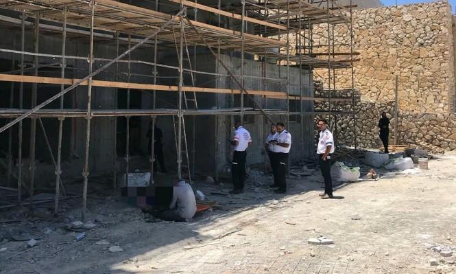 """مصرع عامل في ورشة بناء في """"نتسيريت عيليت"""""""