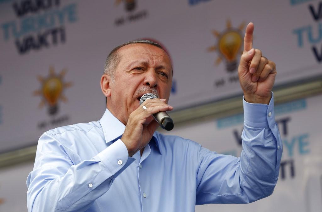 إردوغان (أ ب)