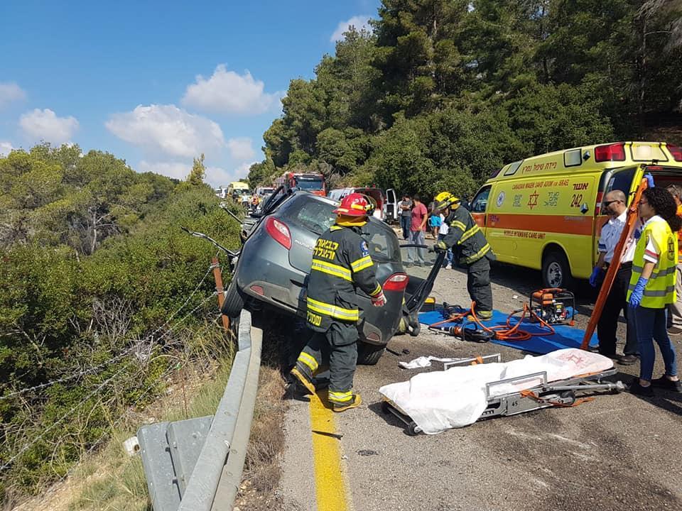 مصرع شخص وإصابة خطيرة بحادث طرق قرب عرابة