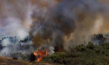 """الحرائق تتوصل بـ""""غلاف غزة"""" والاحتلال يقصف بغزة"""