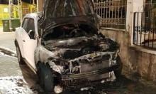 المزرعة: اندلاع حريق في سيارة