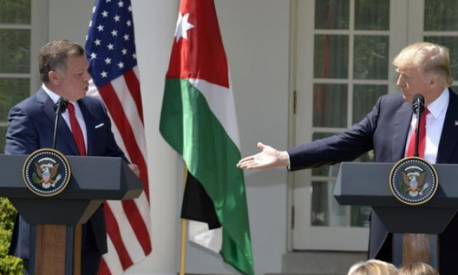 """العاهل الأردني يلتقي ترامب بواشنطن لبحث """"صفقة القرن"""""""