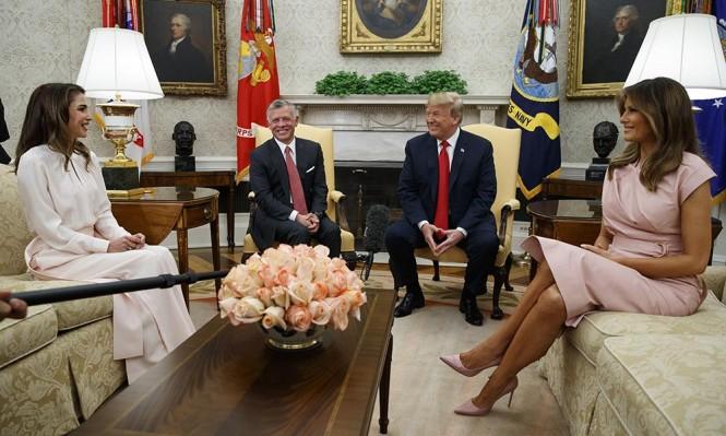 ترامب للملك عبد الله: إحراز تقدم كبير في الشرق الأوسط