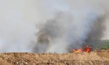 الاحتلال يستهدف مواطنين بصاروخين من طائرة مسيرة شرق مدينة غزة