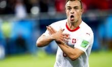 """""""النسر الألباني"""" في المونديال: عقوبة ضد 3 من لاعبي سويسرا"""
