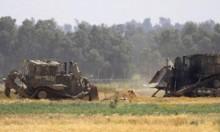 جرافات عسكرية للاحتلال تتوغل شرقي غزة وخانيونس