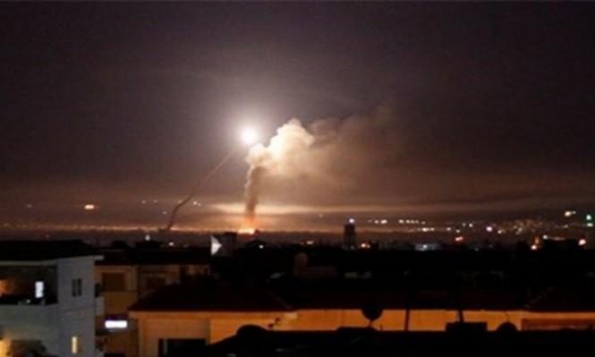 قصف إسرائيلي يستهدف مخازن أسلحة قرب مطار دمشق