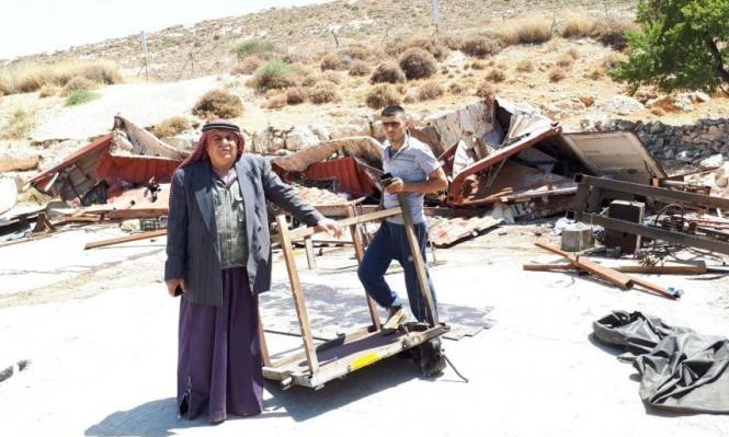 الاحتلال يدمر 4 منشآت زراعية ويجبر مقدسي على هدم منزله
