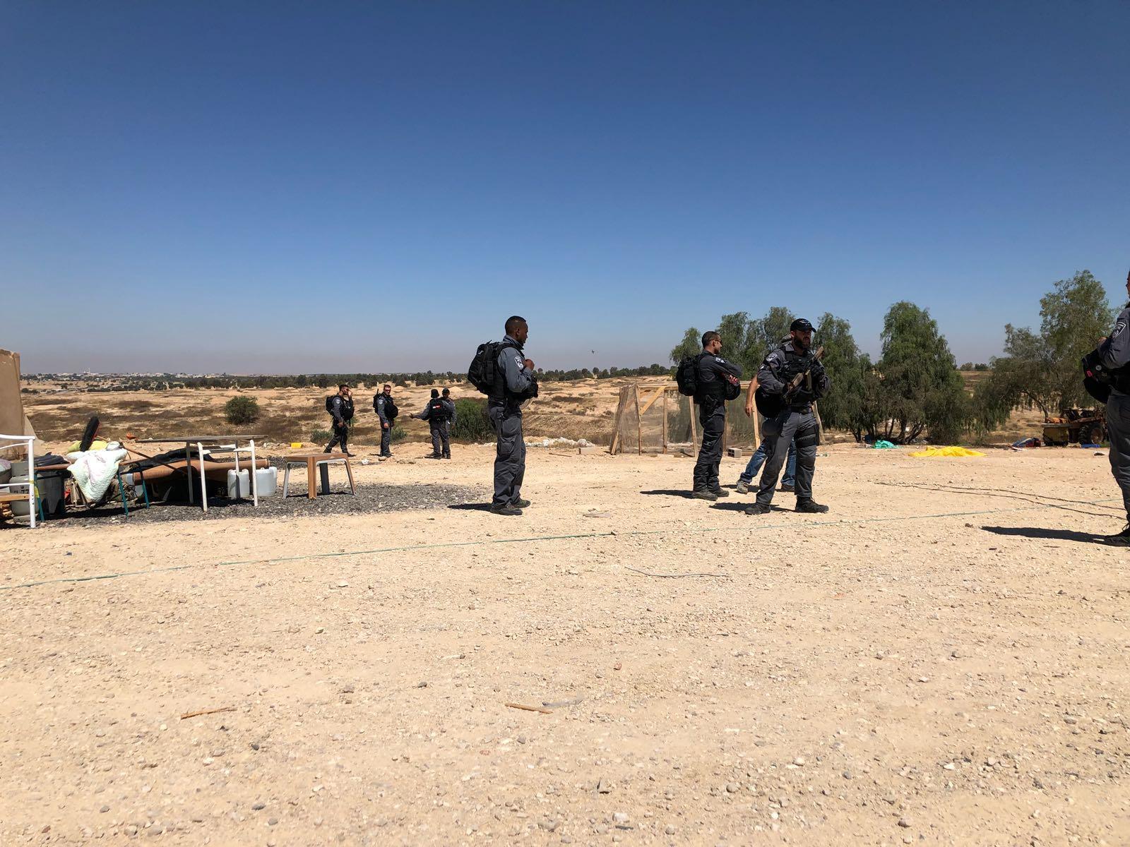 إسرائيل تهدم العراقيب بالنقب للمرة 130