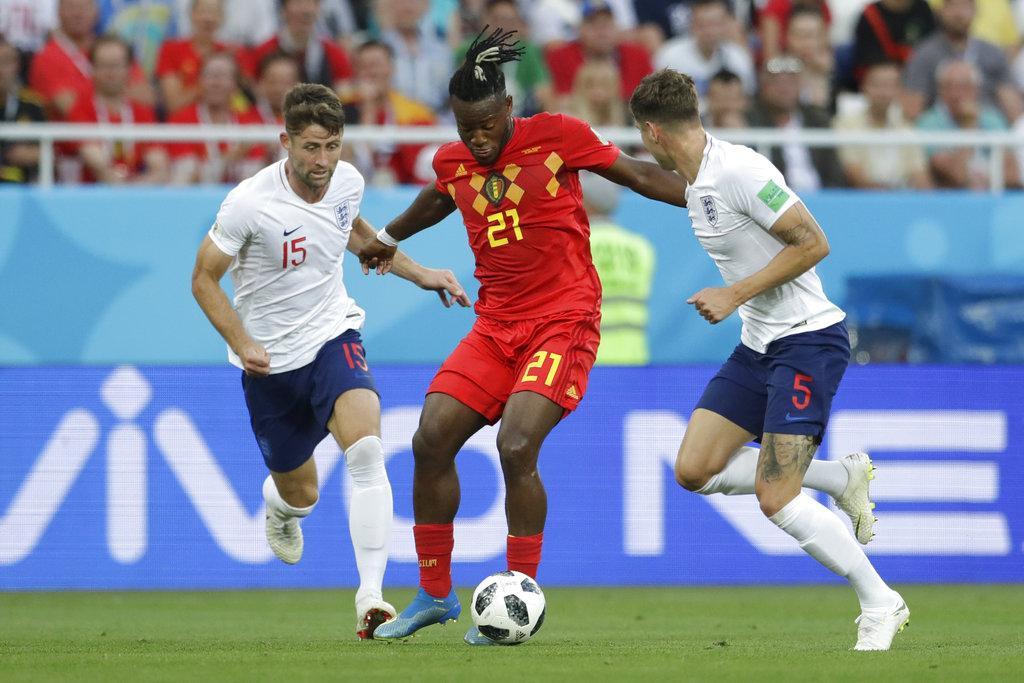 بلجيكا تهزم إنجلترا وتتأهل من صدارة المجموعة