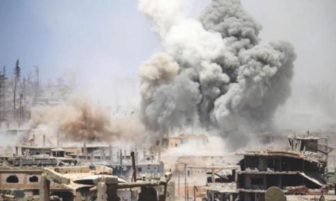 النظام يكثف قصفه لدرعا وميستورا يحذر من احتدام المعارك