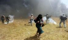 غزّة: شهيدان وأكثر من 415 مُصابا بسلاح الاحتلال