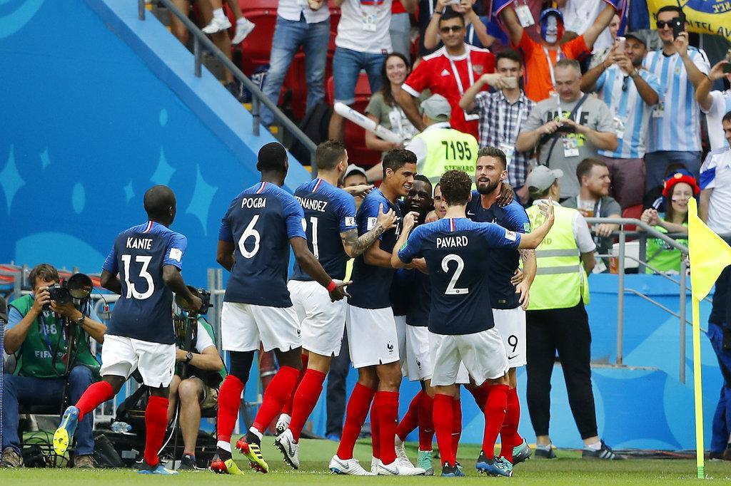 فرنسا تقصي الأرجنتين من المونديال بهزيمة ثقيلة